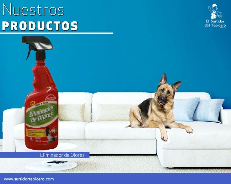 Si los olores como el del humo, las mascotas o la comida están afectando tus muebles tapizados, rocíalos con nuestro eliminador de olores.