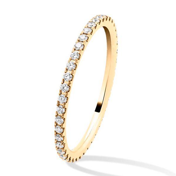 フェリシテ エタニティ リング、イエローゴールド - Van Cleef & Arpels(ヴァン クリーフ&アーペル)の結婚指輪(マリッジリング)イエローゴールドのエンゲージリング・婚約指輪一覧❤