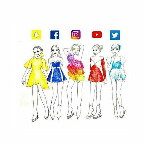 las redes sociales también son bellas.