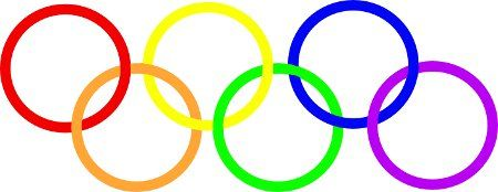 'Olympic gay symbol'; to symbolise the protest against Russia's anti-gay restrictions at the forthcoming Olympic Games. (seattlepi.com)