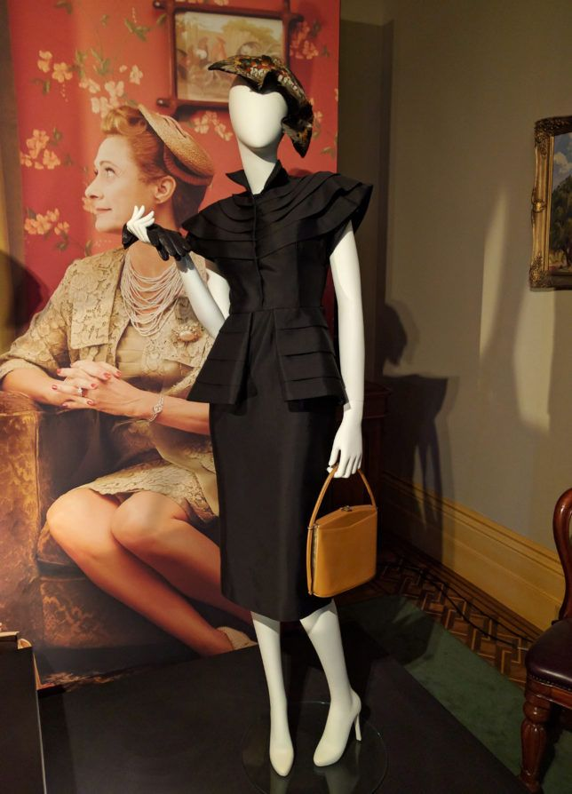'The Dressmaker' costume exhibition 1950's style dress at the Rippon Lea House and Gardens, Melbourne ~Hexotica