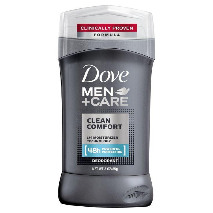 Dove Men+Care Clean Comfort Deodorant Stick - 3oz