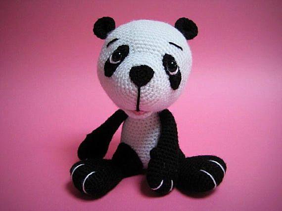 Amigurumi Panda Bear Crochet Pattern : Best amigurumi images crochet dolls crochet