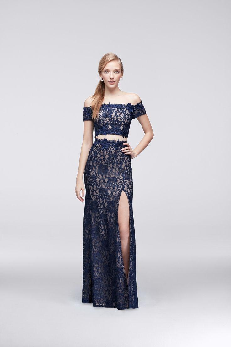David Bridal Two Piece Evening Dresses   Dress images