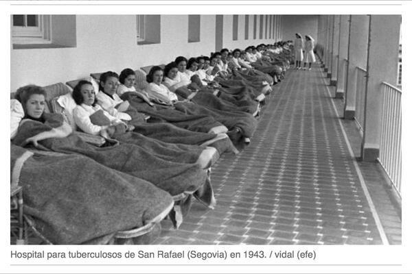 Hospital de tuberculosos, San Rafael.