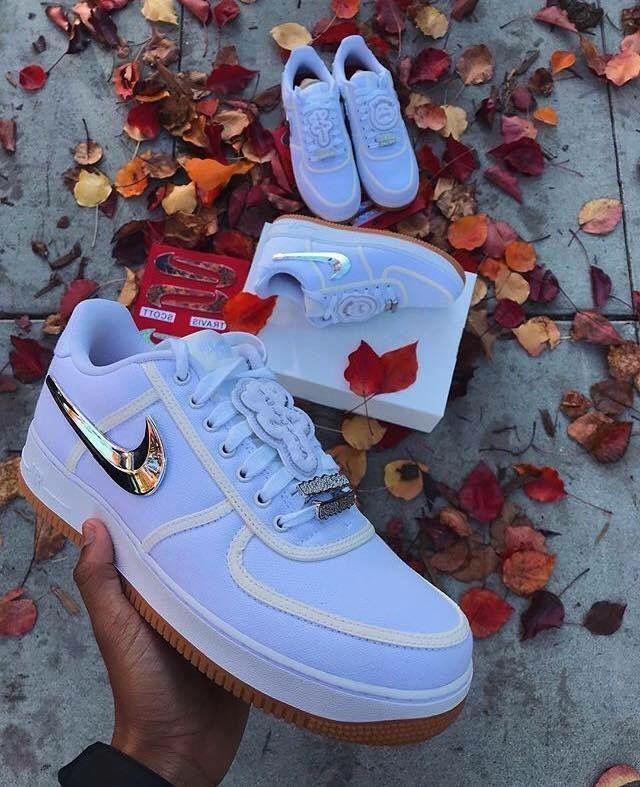 Luxury Streetwear — Travis Scott x Nike AF-1 Detachable ...