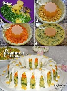 Yoğurt Soslu Patates Salatası Tarifi