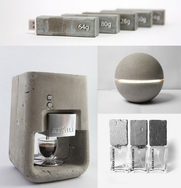 Concrete products.