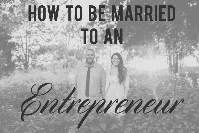 Entrepreneurs are wired differently than most. Being married to one can be exciting and stressful.   Brooke and I are always asked how we make it work. Every marriage is different but Brooke wrote what works for us.   Whether you're an entrepreneur or married/dating one, you should read this.