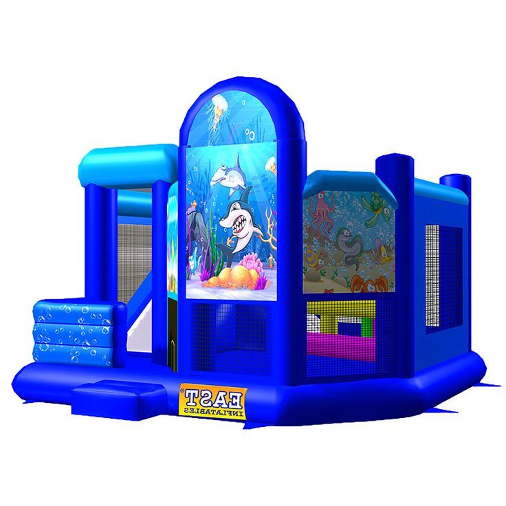 How To Buy Low-price And Best Finding Shark Jumper Combo Five? Our Provide Commercial Bounce House, Discount Water Slide, Cheap Bouncy Games In Sale Inflatables Online