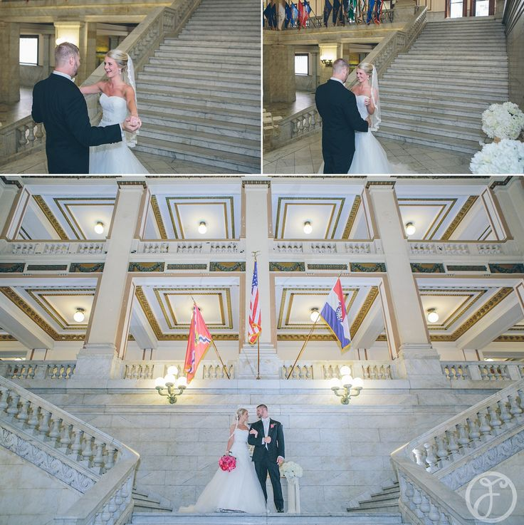 Well, we're not getting that fancy... St Louis City Hall Wedding or Elopement Photo by Forte Photography