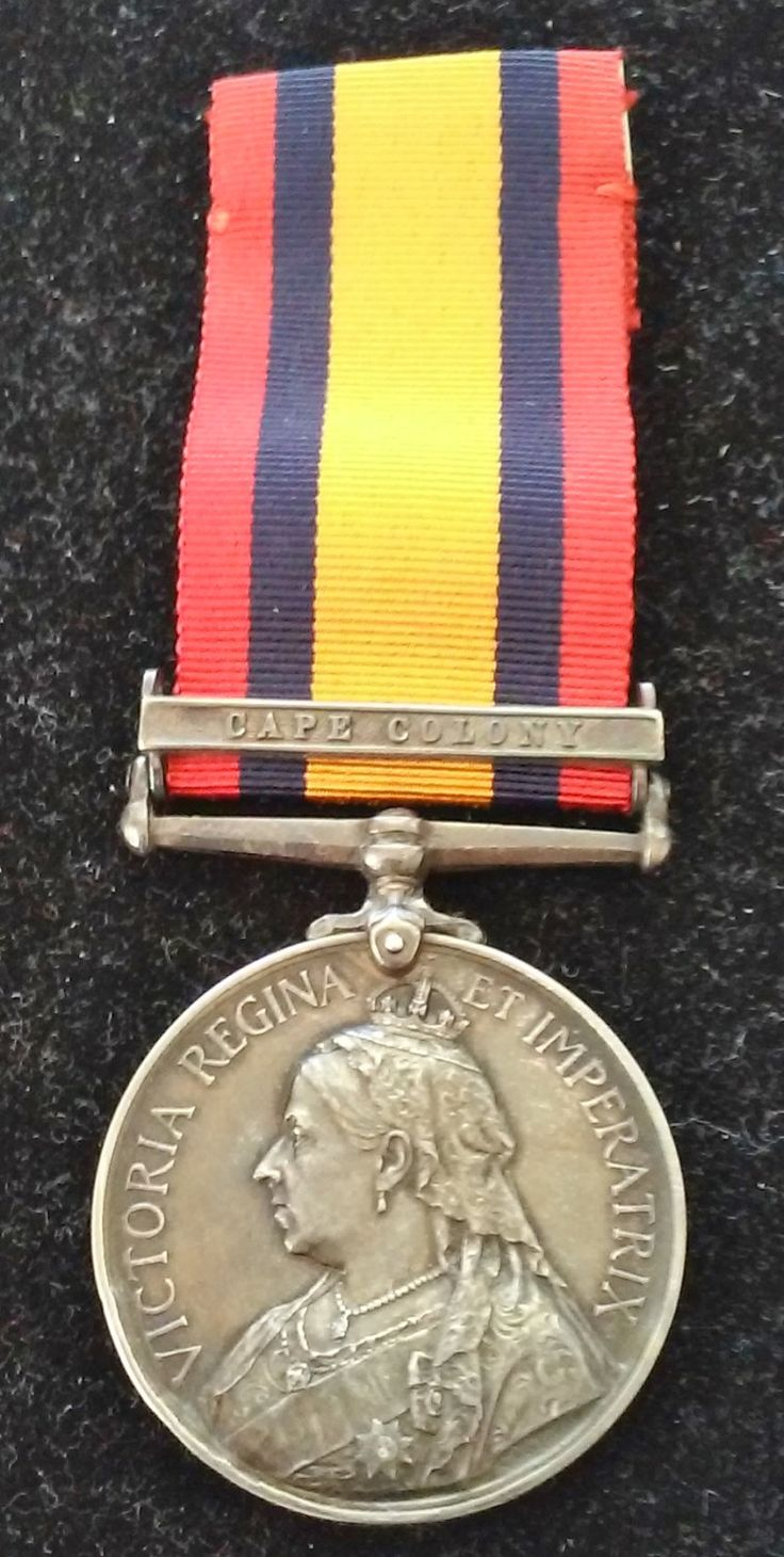 1899-1902 Queen's South Africa Cape Colony Medal by COLLECTORSCENTER on Etsy