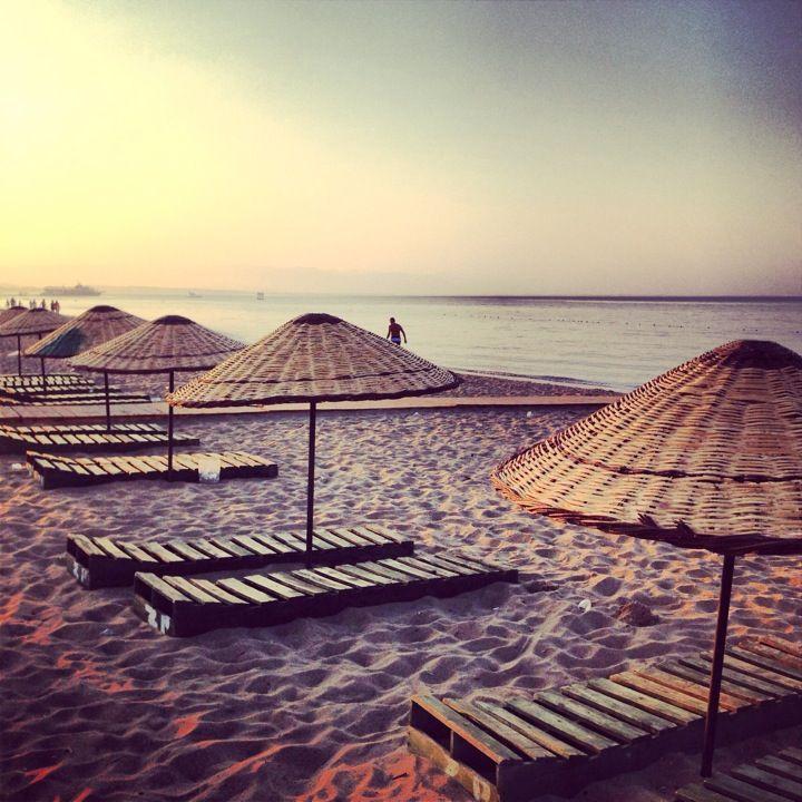 Sarımsaklı Plajı in Ayvalık, Balıkesir