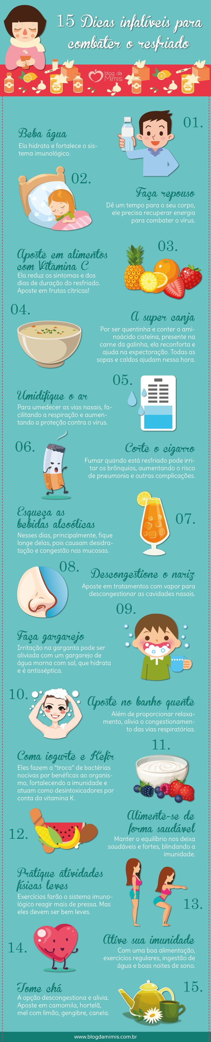 O resfriado é uma das doenças mais comuns que existe e os seus sintomas já são bem conhecidos: coriza, tosse, espirros, cansaço, dores leves de garganta, de cabeça e musculares. Ninguém merece! Dif…