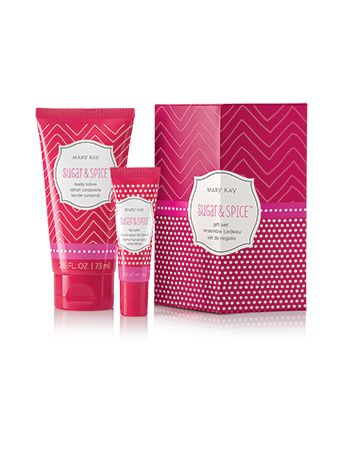 Add a touch of softness to the season with this blissful body lotion and luscious lip balm in: Sugar & Spice™ – Sugar and spice and everything nice make this pair a cozy treat. The sets: Make a fun stocking stuffer. Come nestled in a festively decorated gift box for easy gift-giving.