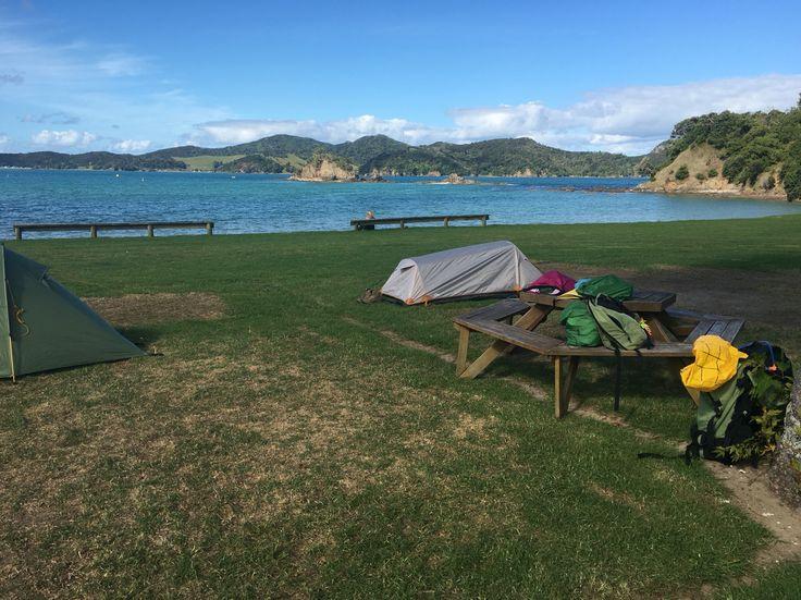 Oakura Bay Camping