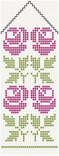 Bilderesultat for mittens pattern charts