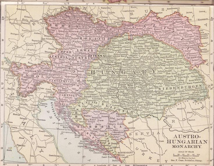 Best Austro Hungarian Culture Images On Pinterest Austro - Map of austria hungary 1900 1907