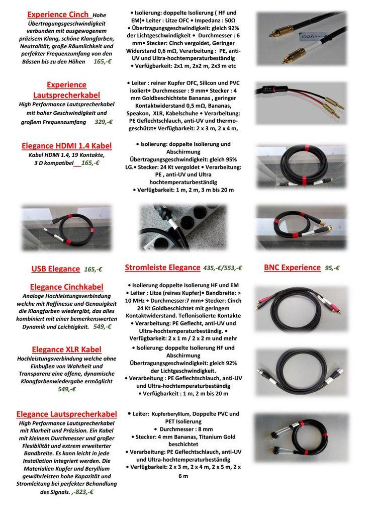 16 besten o2a cables Bilder auf Pinterest | Kabel und Link