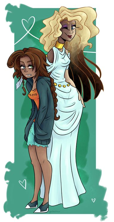 This is probably the best pic i have seen of Aphrodite and Piper