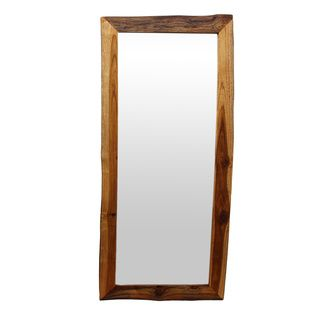 @Overstock.com - Handmade Golden Oak-finished Teak Wood Full-length Mirror (Thailand) - Masterfully crafted by artisans in Thailand, this handmade full-length mirror features a 5 mm true glass mirror framed in beautiful reclaimed teak wood with a warm golden oak finish. Complete the look of any room with this handsome mirror.  http://www.overstock.com/Worldstock-Fair-Trade/Handmade-Golden-Oak-finished-Teak-Wood-Full-length-Mirror-Thailand/8814175/product.html?CID=214117 $214.99