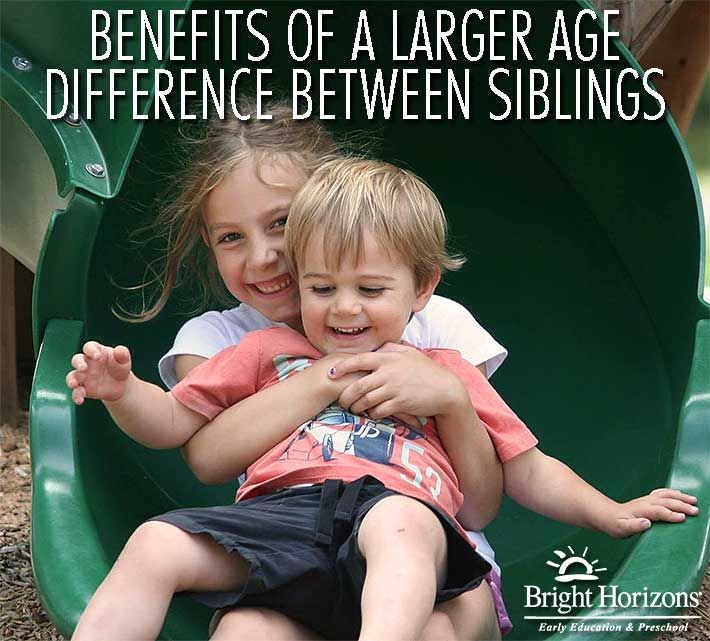 siblings 4 year age gap dating