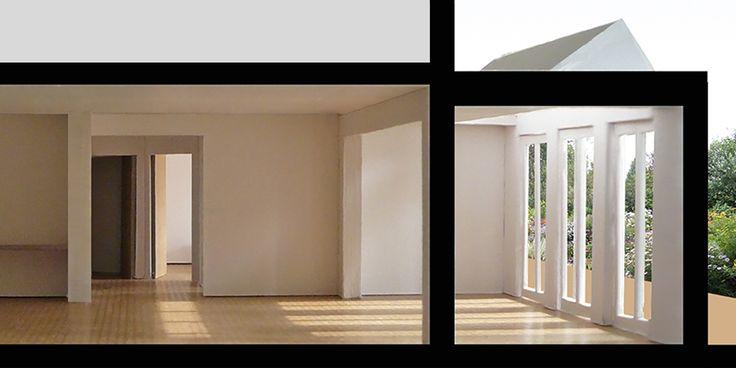 Samenvoeging twee appartementen Hoofddorppleinbuurt Amsterdam // Lumen Architectuur