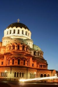 Bulgarian Funeral Traditions - St. Alexander Nevsky church in Sofia, Bulgaria is one of the largest Eastern Orthodox cathedrals in the world and can accommodate up to 10,000 people