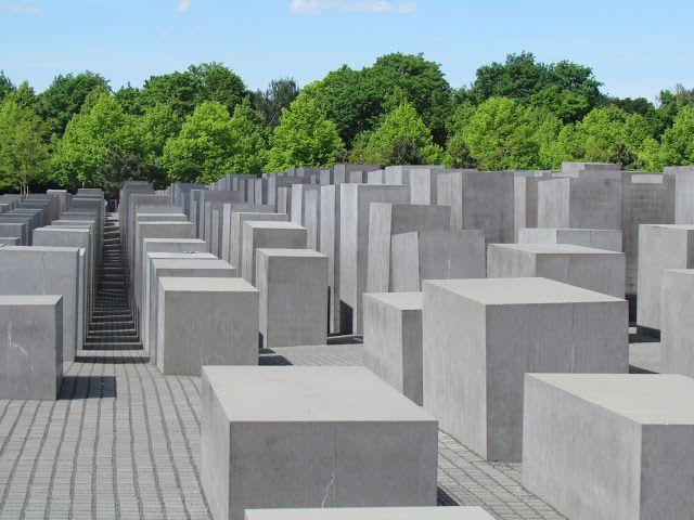 212 dias pelo mundo: Checkpoint Berlim! - memorial do holocausto