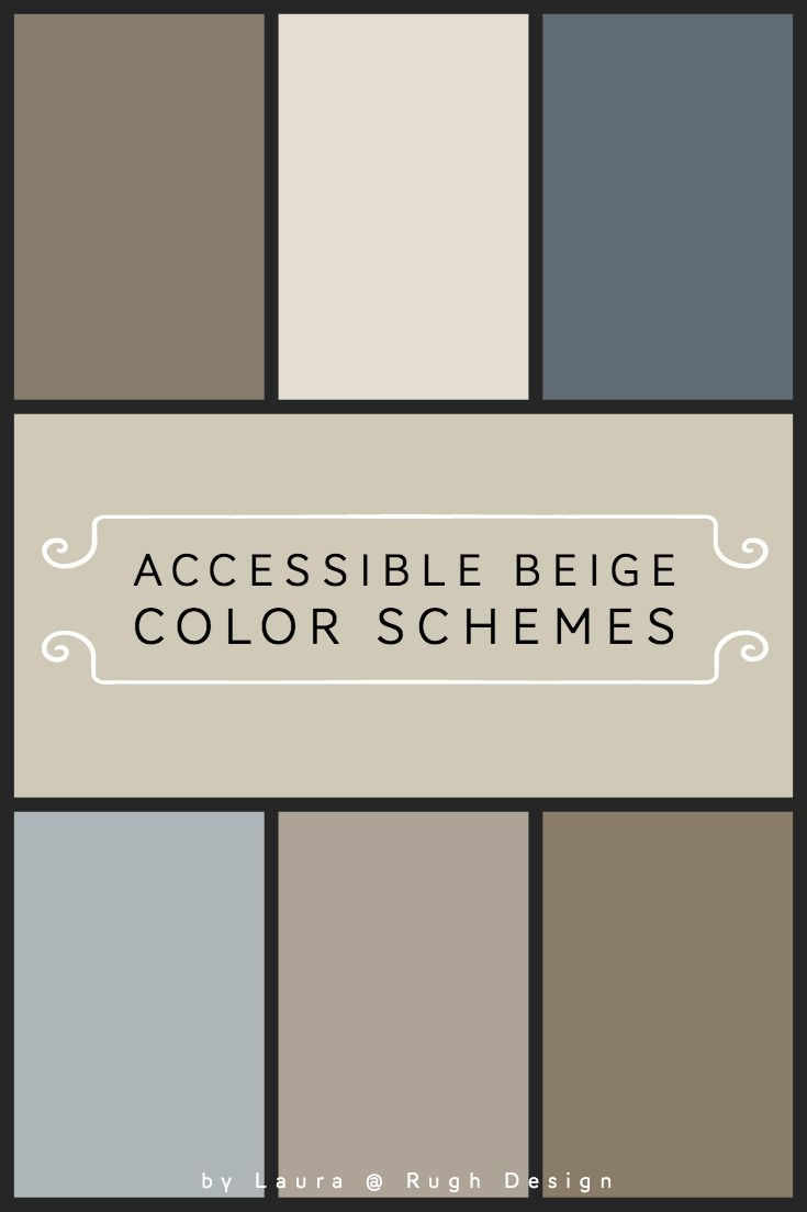 Color Scheme For Accessible Beige Sw 7036 Accessible Beige