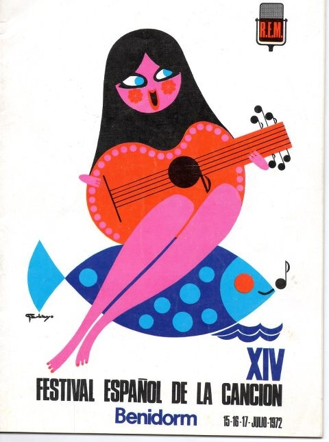 Festival Espanol de la Cancion XIV * Benidorm 1972
