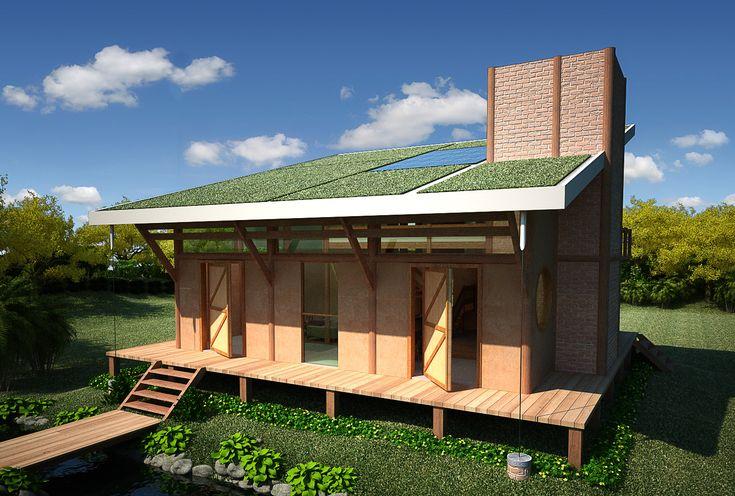 casa bioconstrução - Pesquisa Google