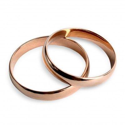 """Обручальное кольцо Семейные ценности 11850 Классическое обручальное кольцо из красного золота """"Семейные ценности"""". Коллекция """"Ценности"""". …воплощает семейные традиции и ценности, передающиеся из поколения в поколение… Классическая модель обручального кольца скругленной  формы выполнена в красном золоте 585 пробы. Ширина шинки – 4 мм.  Вес: 1.70-2.50 Проба: 585 Материал: золото Цвет золота: красное 1360.00 грн В наличии"""