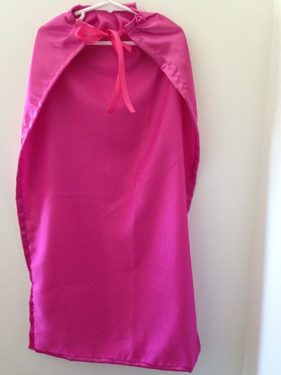 Kids roze Cape handgemaakt aankleden kostuum door SeaminglySarah