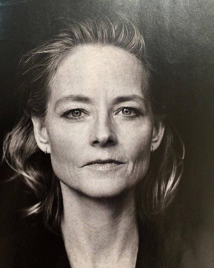 Jodie Foster Avec Images Portrait Noir Et Blanc Beaute