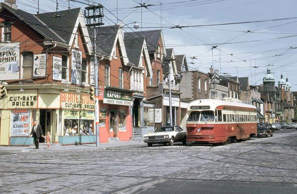 "#Toronto's original PCC Streetcars the ""Red Rocket"" 1950's-1970's"