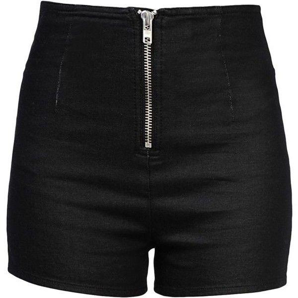 Best 25  Black high waisted shorts ideas on Pinterest | Black ...