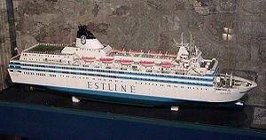 MS Estonia | The Estonia disaster occurred on Wednesday, 28 September 1994, between about 00:55 to 01:50 (UTC+2) as the ship was crossing the Baltic Sea, en route from Tallinn, Estonia, to Stockholm, Sweden.