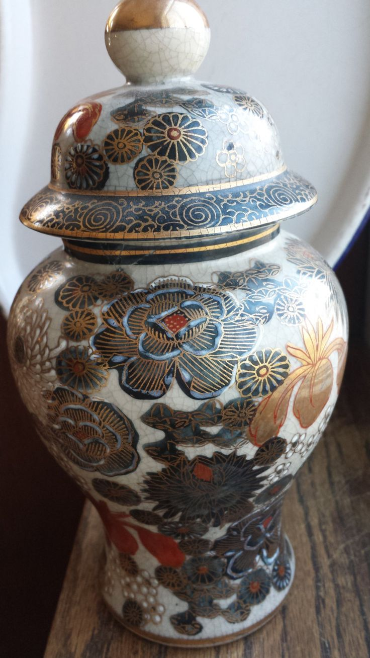 Heygill Imports Japanese ginger jar | From my Etsy shop ...