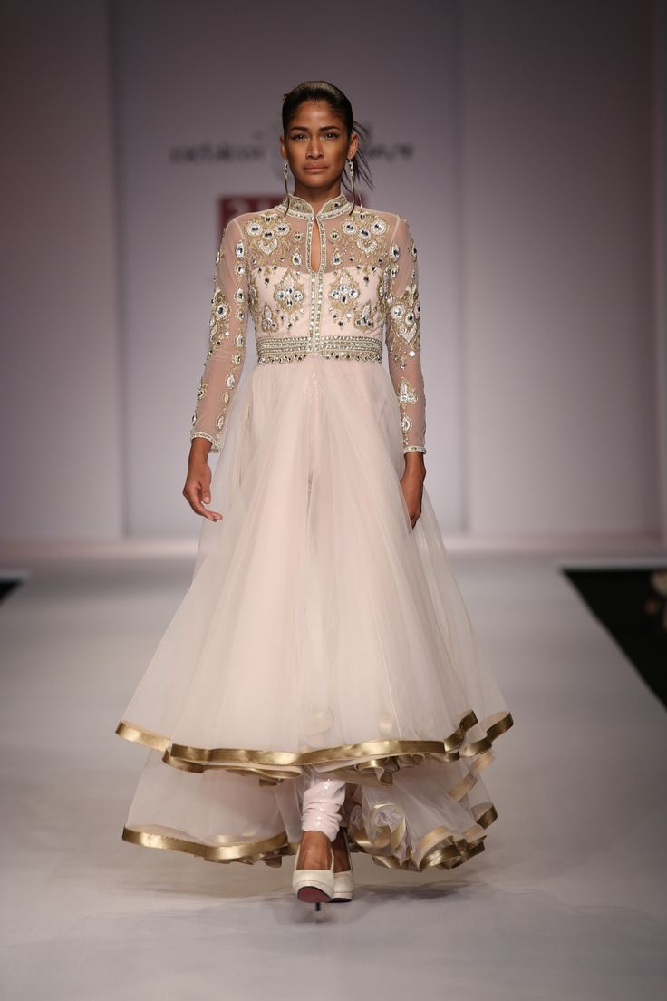 Anarkali by Rabani and rakha #fdci #wifw SS14 #indianfashion #salwaar kameez #chudidar #chudidar kameez #anarkali #anarkali suits #dress #indian #hp #outfit #shaadi #bridal #fashion #style #desi #designer #wedding #gorgeous #beautiful