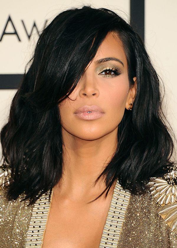 Brown hair / cheveux bruns Kim Kardashian