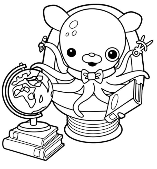 77 best octonauts images on pinterest octonauts party for Octonauts color pages