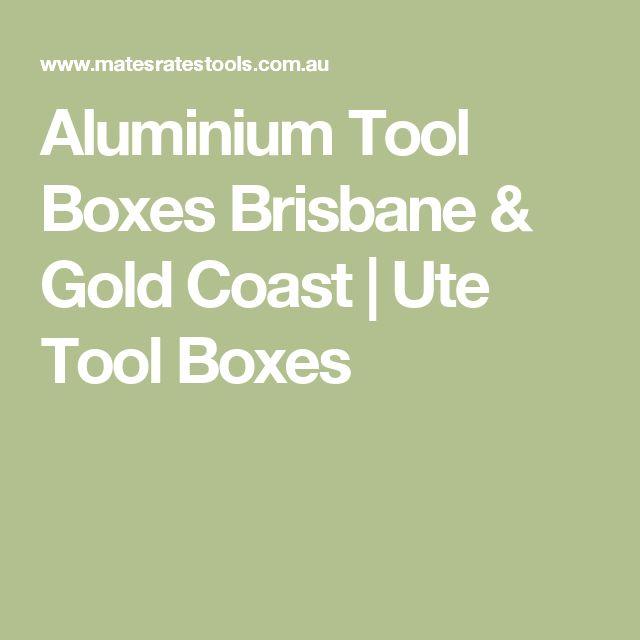 Aluminium Tool Boxes Brisbane & Gold Coast | Ute Tool Boxes