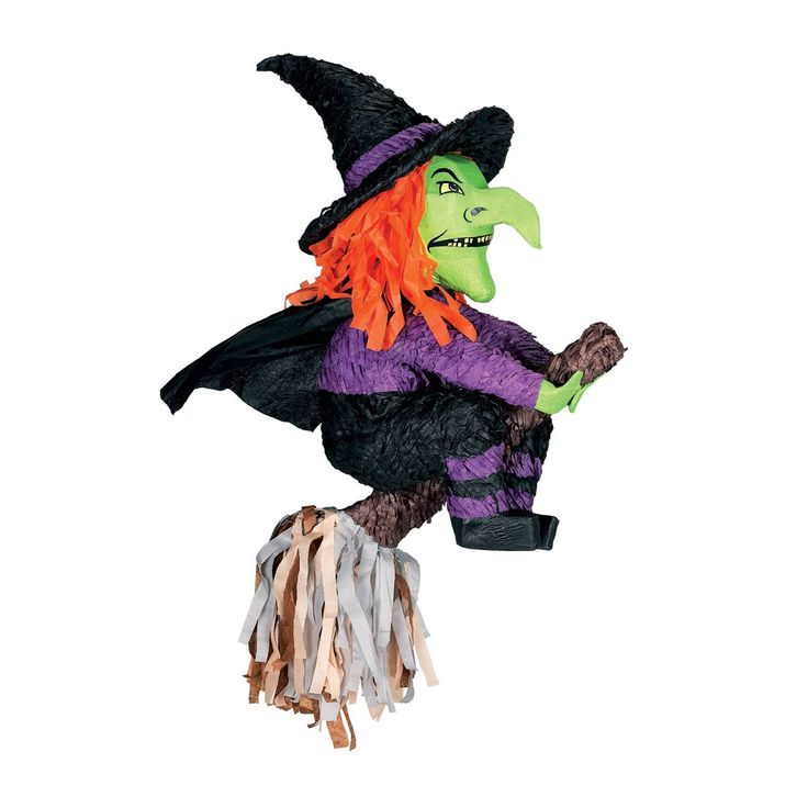 witch pinata for halloween