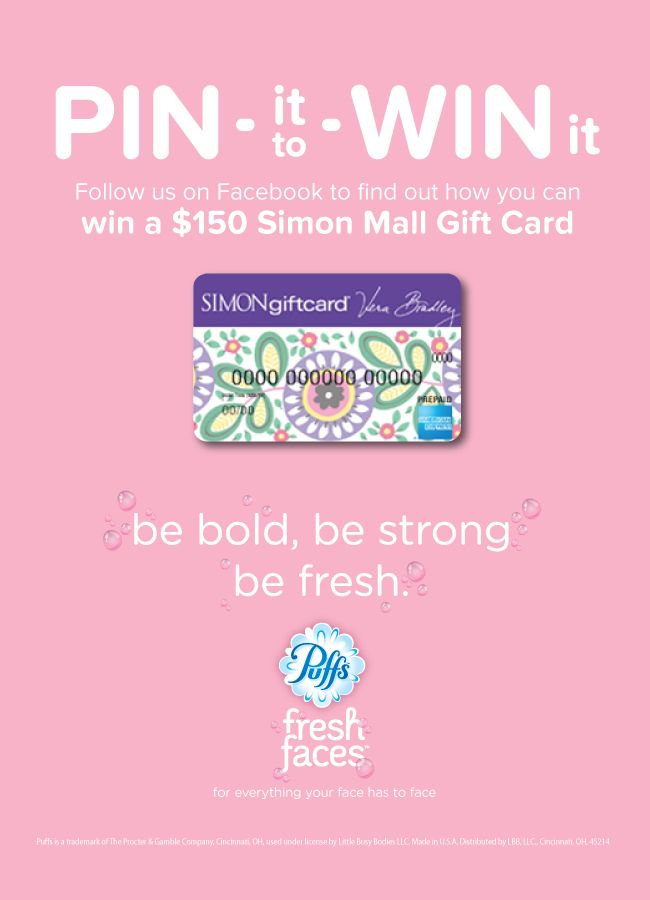 We're Painting the Mall Pink and giving away a $150 Simon Mall gift card. Click here to see how you can win. (Giveaway ends 10/23.)