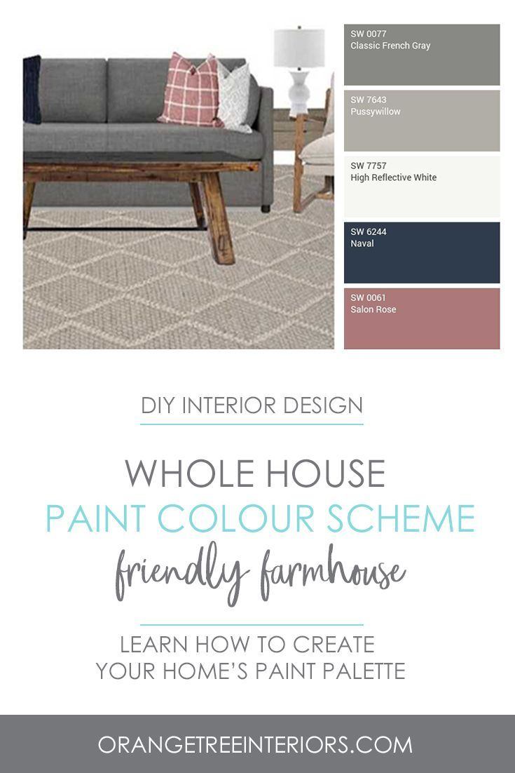 This Colour Scheme Is Just One Of Many Whole Home Paint Colour