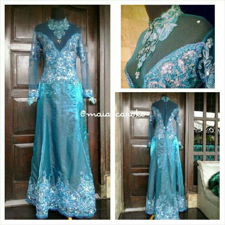 Kebaya gown,, PM pin BB 5AF305B0 WA 0856 4200 8084