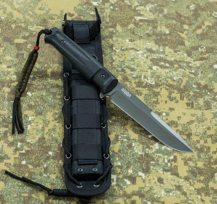 Nôž ALPHA D2 GT, Kizlyar Supreme
