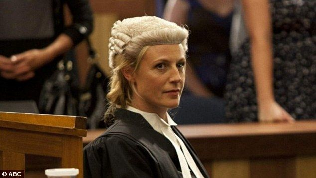 Marta Dusseldorp in Janet King