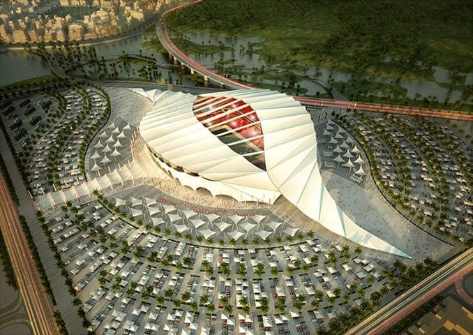 World Cup Stadium Soccer In 2020 Qatar Stadium World Cup 2022 World Cup Stadiums